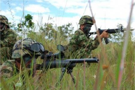 Siete guerrilleros de la Farc fueron abatidos en Nariño