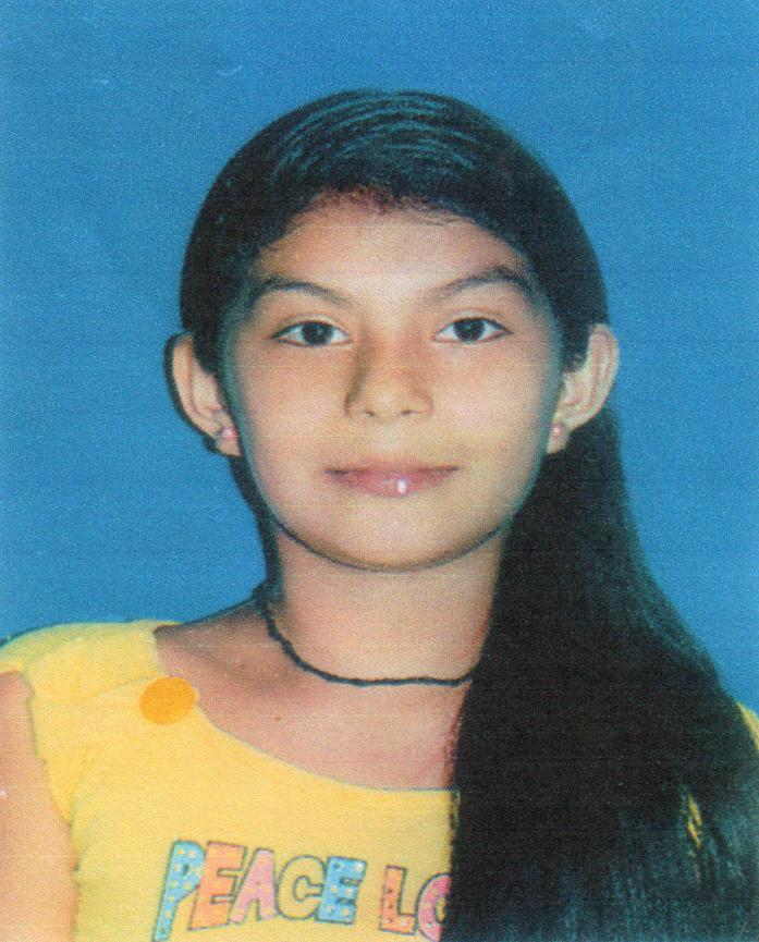 Ocho meses sin rastro de la niña Jackeline Velasco