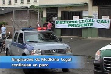Empleados de Medicina Legal trabajarán a media marcha