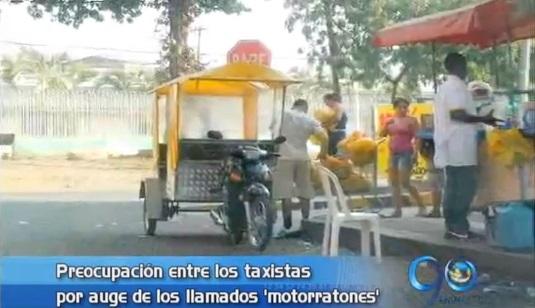 Taxistas denuncian auge de motorratones en Cali