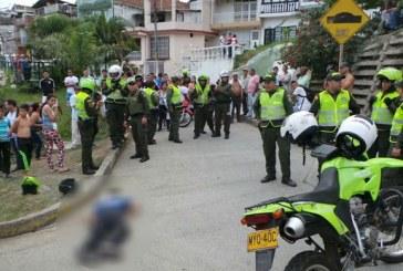 Un tiroteo en la Avenida de los Cerros causó trancones