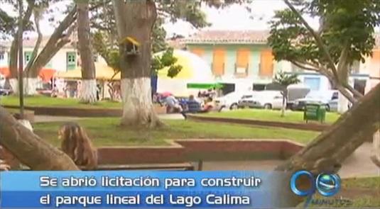 Abren licitación para construir el malecón del Lago Calima