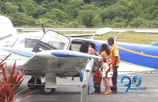 Pista del aeropuerto de Bahía Solano, Chocó necesita reparación