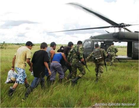 Sigue la  desmovilización de guerrilleros en el Cauca