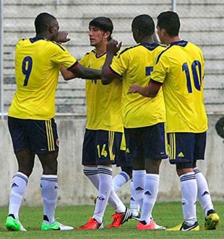Selección Colombia sub 20 debutó con triunfo en el Esperanzas de Toulon