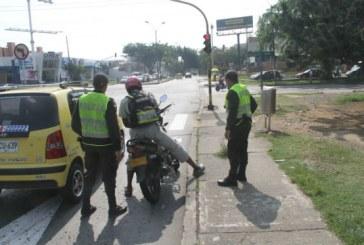 Parte positivo de la Policía sobre delitos en los semáforos