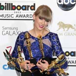 Taylor Swift, la reina en los Billboard con ocho premios