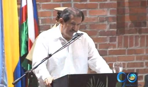 Vicepresidente Angelino Garzón en foro sobre Derechos Humanos en Cali