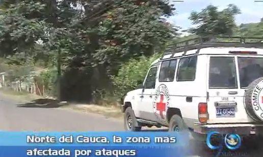 El CICR adelantó simulacro de evacuación en Caloto