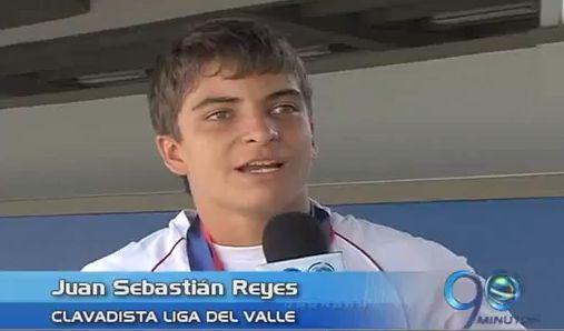 Caleño Juan Sebastián Reyes se destacó en clavados en Medellín