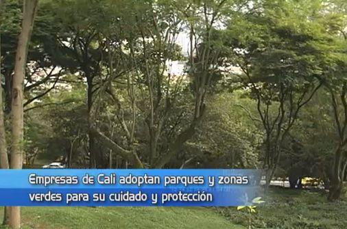 Empresas vallecaucanas apadrinan parques y zonas verdes de Cali