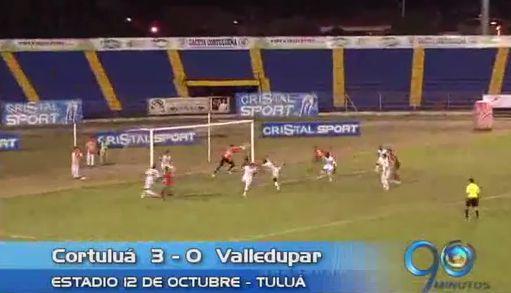 Cortuluá derrotó a Valledupar y se acercó a la final de la B
