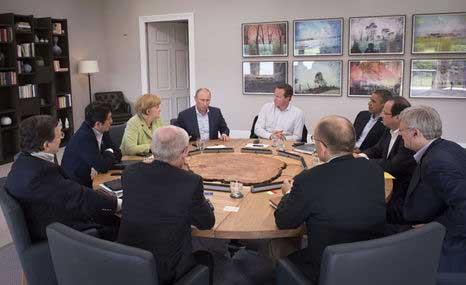 G8 acordó buscar creación de gobierno democrático en Siria
