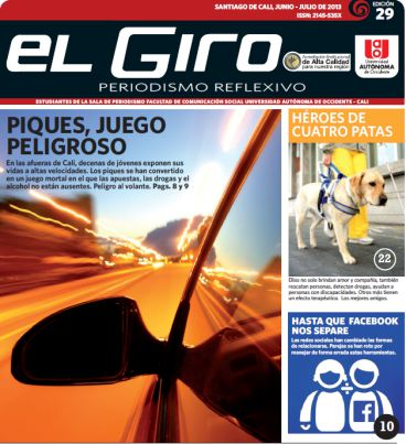 Universitarios de la Autónoma publican edición 29 de El Giro