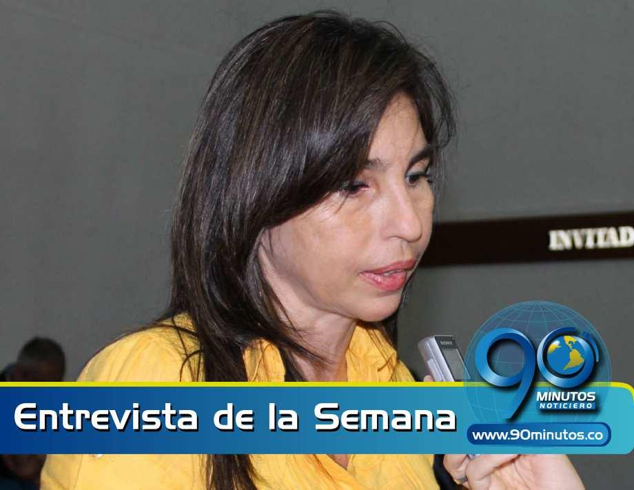 A Emcali la van a liquidar igual que a Emsirva: Patricia Molina