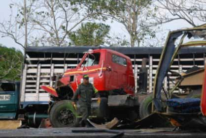 Accidente en Magdalena dejó 5 víctimas que viajaban a Cali