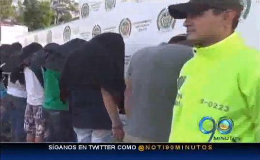 Capturan nueve personas sindicadas de homicidio en el Cauca