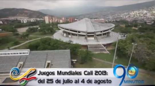 El Noticiero 90 Minutos está presente en los Juegos Mundiales