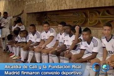 Alcaldía de Cali firma convenio deportivo con el Real Madrid