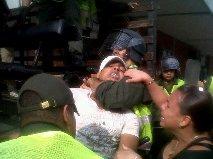 Defensor de DD.HH. herido tras disturbios en el Sena