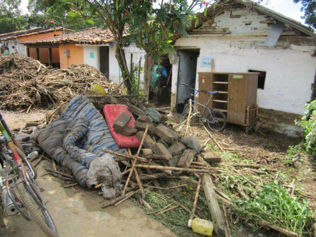 Río Rey en Roldanillo fue el causante de emergencia invernal
