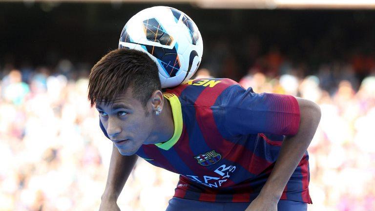Neymar debutará con el Barcelona enfrentando a su ex equipo el Santos