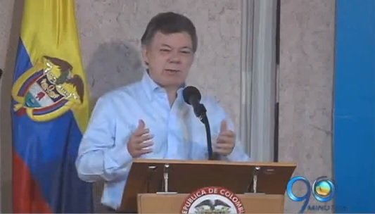 Santos anuncia en Cali lucha frontal contra el contrabando