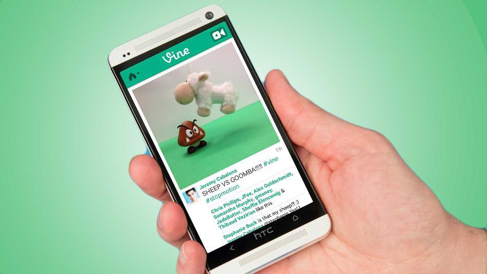 'Androides' ya pueden grabar y compartir videos con Vine
