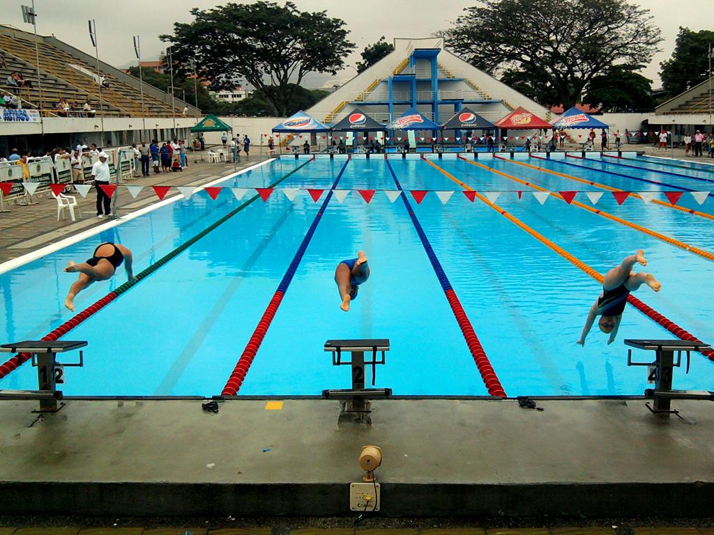 Juegos Mundiales 2013: al agua en las piscinas Hernando Botero O'byrne
