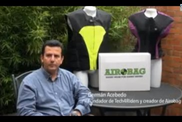 Colombia Innova: un airbag en su moto puede salvarle la vida