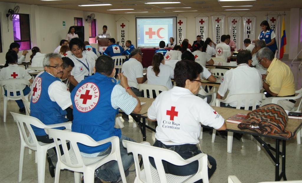 La Cruz Roja Colombiana realizó su II Reunión Seccional