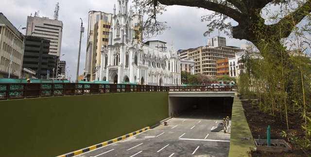 Cierran temporalmente el túnel de la av. Colombia