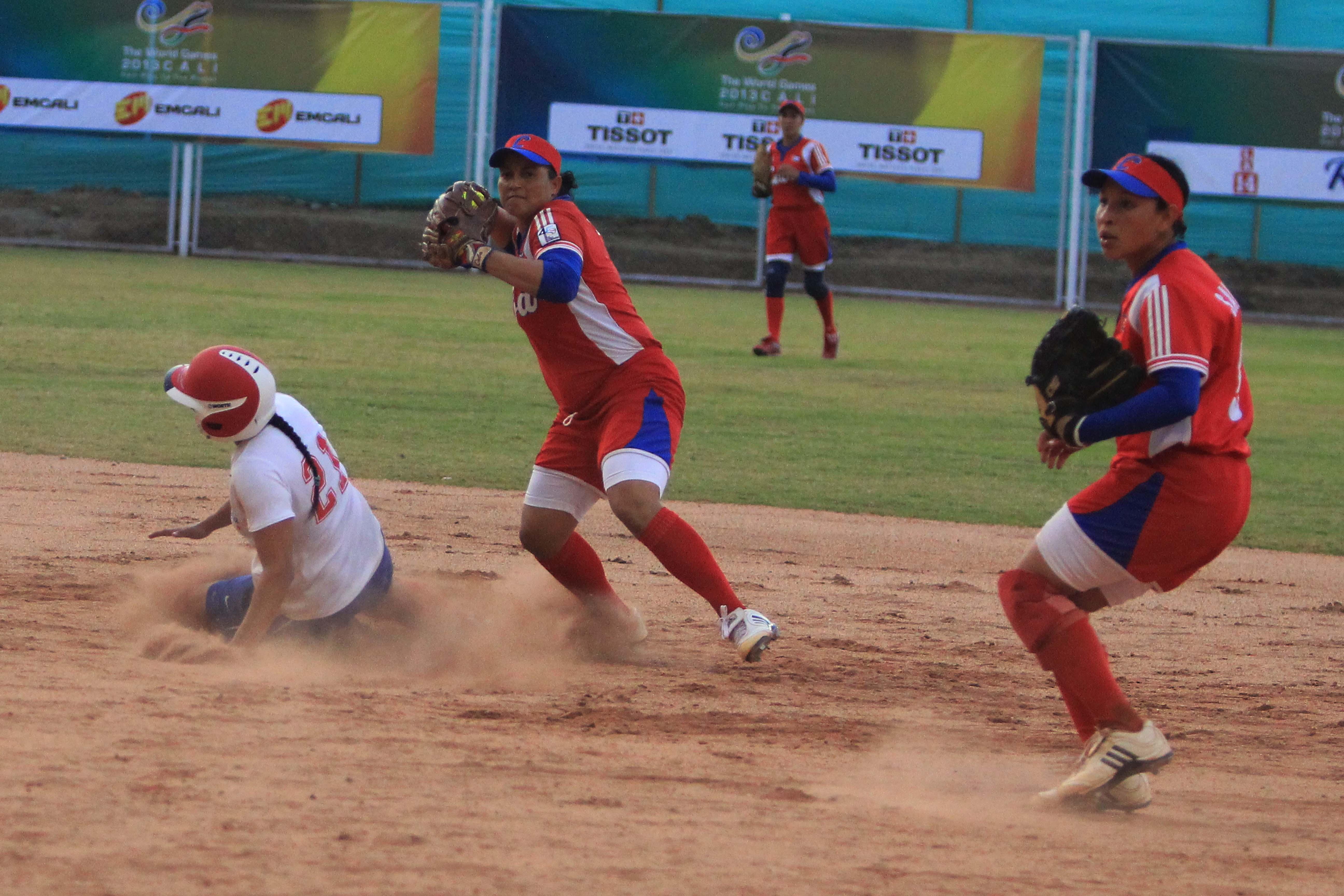 Cuba gran vencedor en softball, se quedó con el oro en Juegos Mundiales