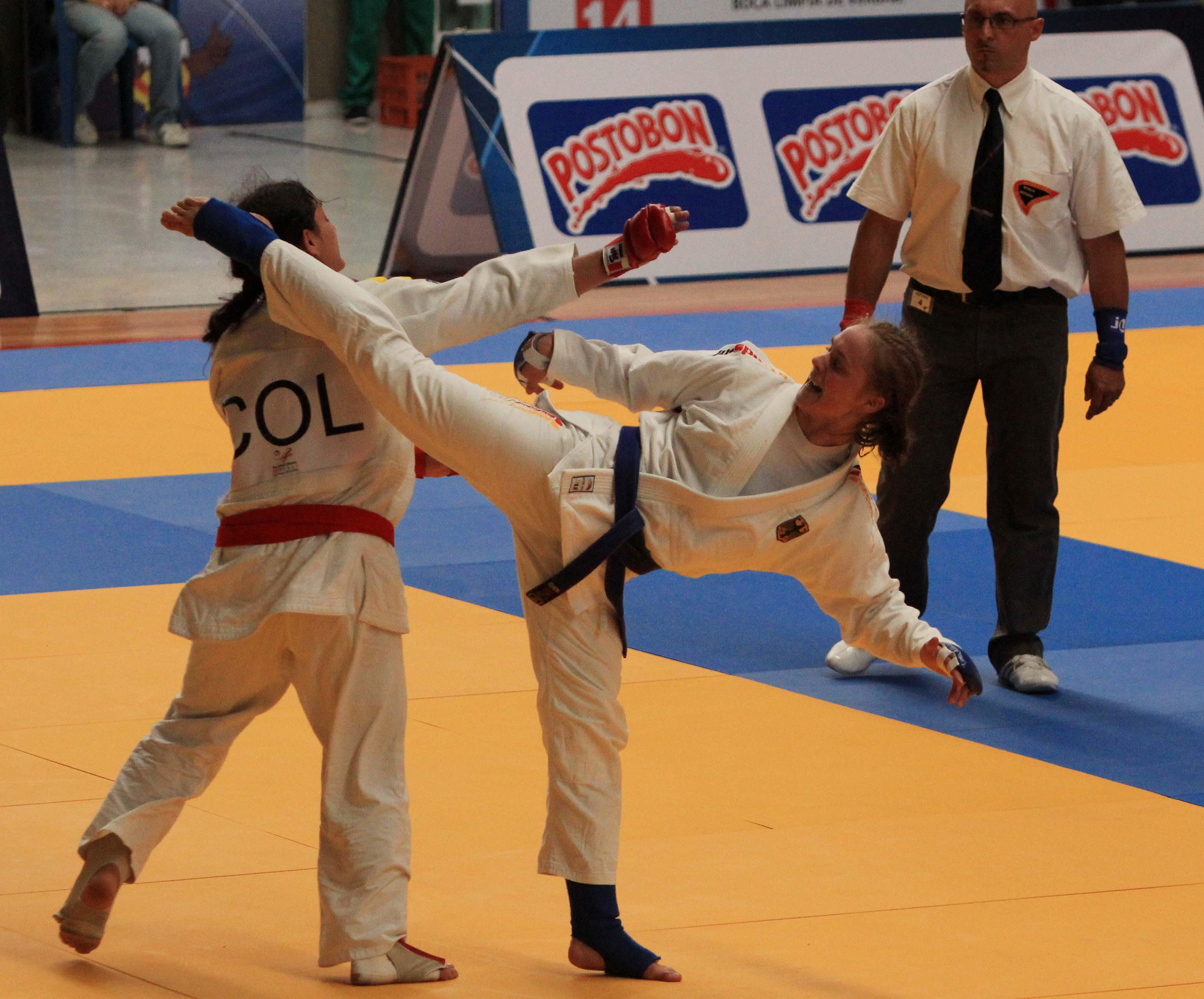 En imágenes: el Ju-Jitsu, coreografía de patadas y llaves al estilo de Hollywood