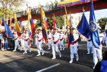 Repase en imágenes el desfile militar del 3 de julio