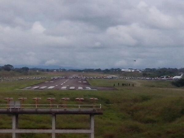 Mineros se tomaron el aeropuerto de Quibdó