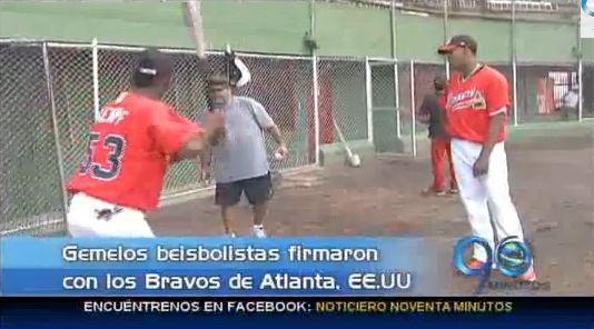 Beisbolistas vallecaucanos firman con los Bravos de Atlanta