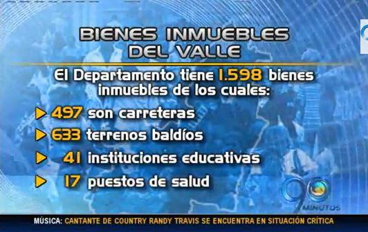 Mayoría de bienes inmuebles del Valle están sin legalizar