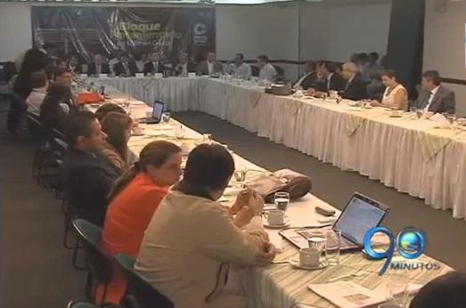 Bloque Parlamentario prioriza proyectos del Contrato Plan