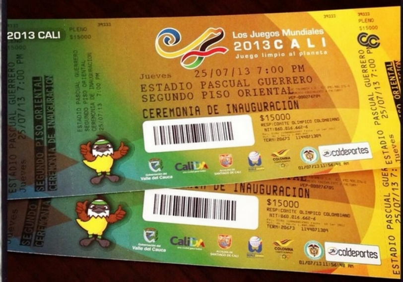 Boletería para las Juegos Mundiales: ¿ya tiene las suyas?