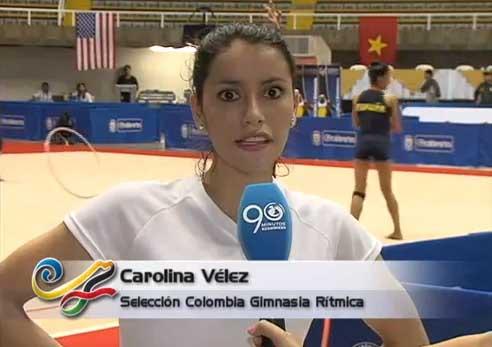 Una caleña será la única representante de Colombia en Gimnasia
