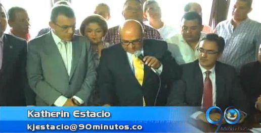 Congresistas, Gobernador y alcaldes del Valle, firman Contrato Plan