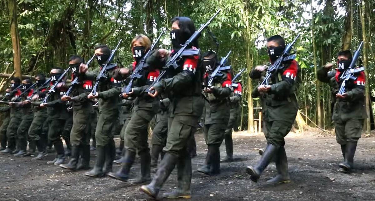 Desmovilización masiva del ELN en el Tambo, Cauca