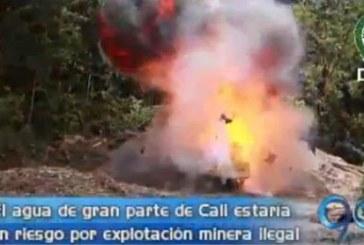 Ofensiva de las autoridades contra la minería ilegal en zona rural