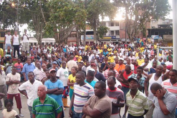 Iniciaron mesas de concertación para levantar paro en Guapí