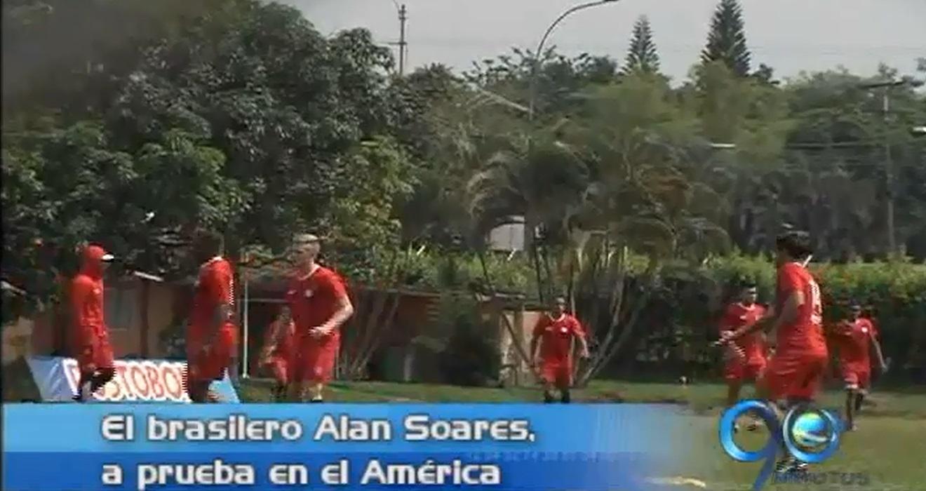 América tiene a prueba a otro jugador brasileño para su conjunto