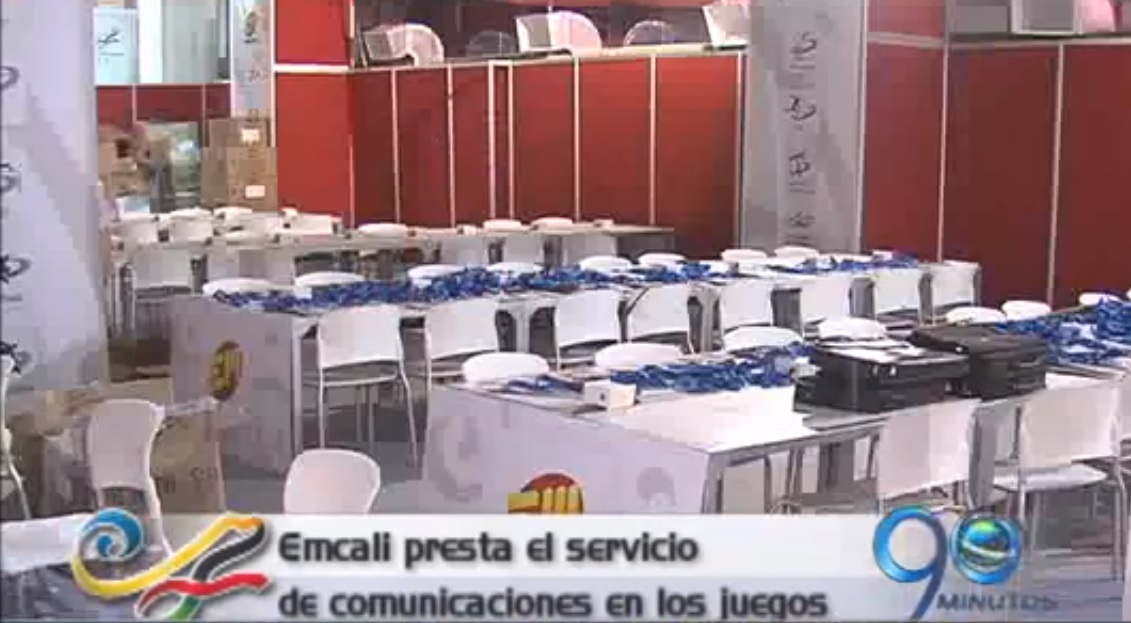 Emcali prestará el servicio de comunicaciones en los Juegos Mundiales