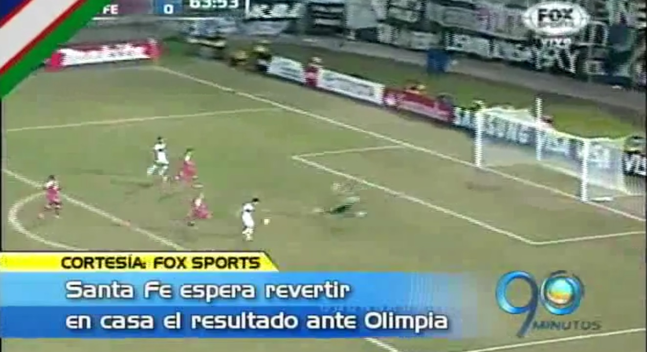 Olimpia de Paraguay vence a Santa Fe en partido de ida en la Copa Libertadores