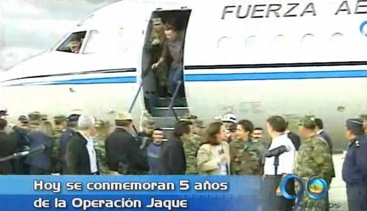 Hoy se conmemoran 5 años de la Operación Jaque