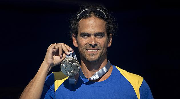 Medalla de oro histórica ganó Orlando Duque en el Mundial de Natación